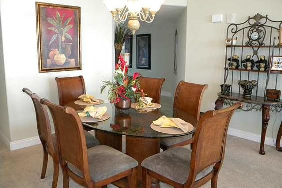Tina's Treasure Island 3 BR Luxury Beach Condo - Dining Room