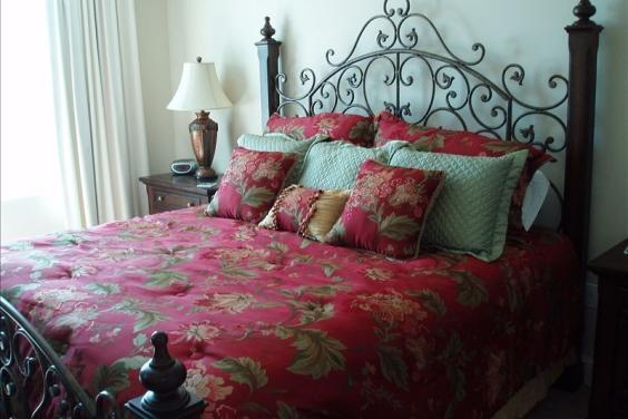 Master Bedroom overlooking Beach