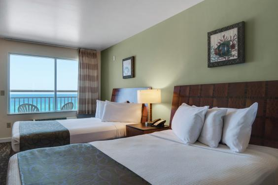 Beach Tower Double Queen Room