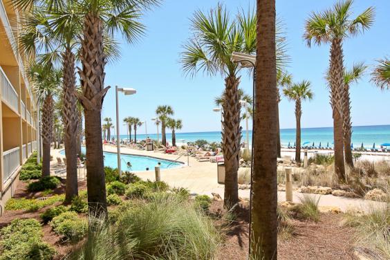 Calypso Pool and Beach View