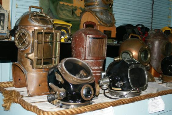 Historical Dive Helmets