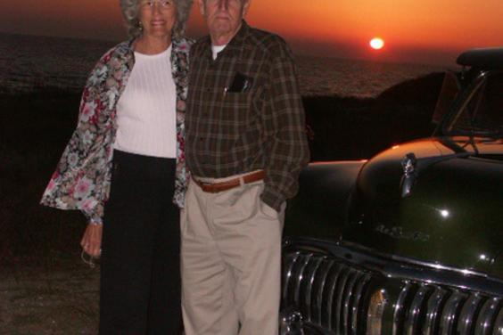 Anniversary Guests at Sunset