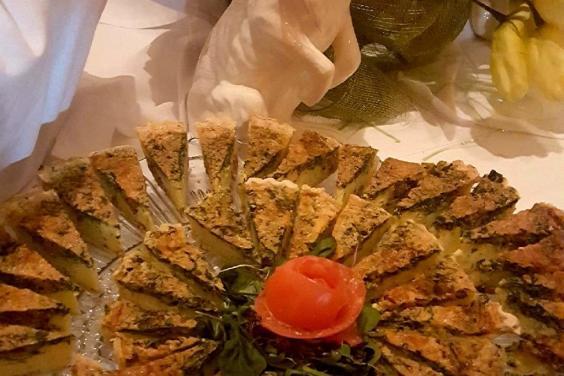 Holiday Buffet PCB-Spinach Quiche-Boar's Head Restaurant & Tavern