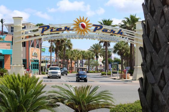 Pier Park 2 Miles Away!