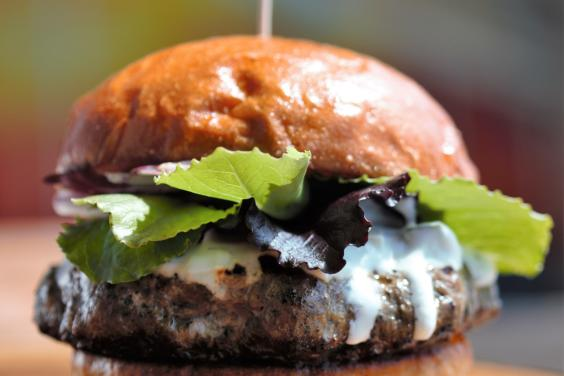 The Prince: Our handcrafted lamb burger