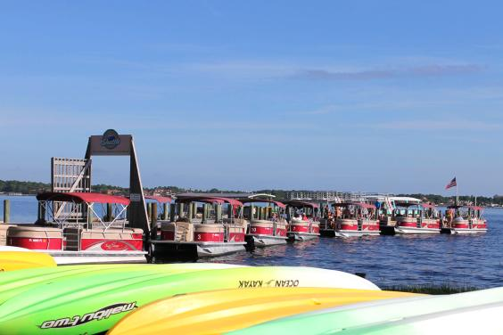 Shell Island Shuttle Pontoon Boat and Kayak Rentals