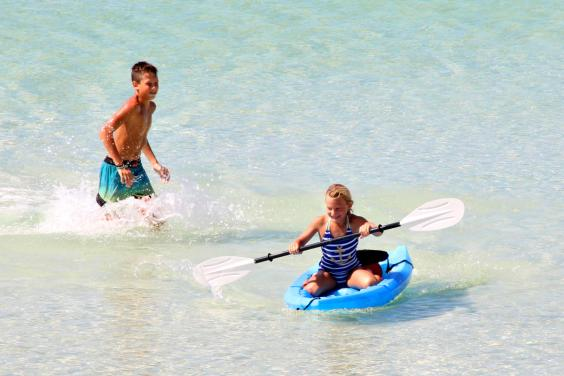 Shell Island Shuttle Kayak Rentals in Panama City Beach