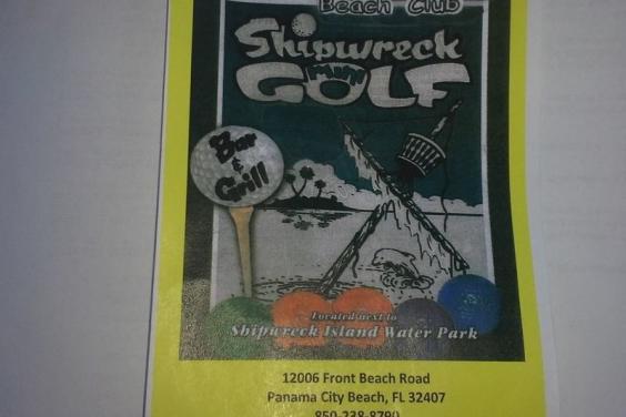 shipwreck golf bar&grill