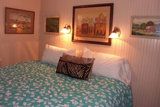 Original Art Bedroom With King Bed With Luxury Linens