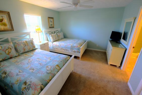 Guest Bedroom - Two Full Beds