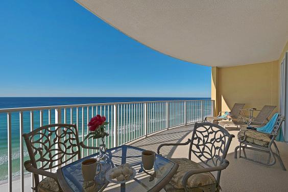 Balcony Overlooking the Gulf Unit 1304