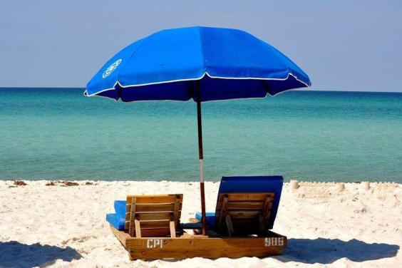 Top of the Gulf - Unit 104 Beach chairs provided with your stay