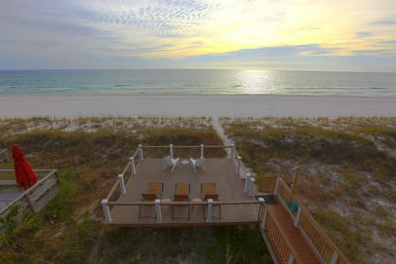 Private Sundeck with Loungers