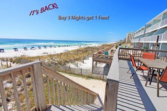 Buy 3 Nights get 1 FREE!