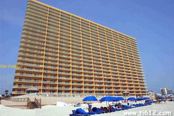 Tina's Treasure Island 3 BR Luxury Beach Condo - Beach View