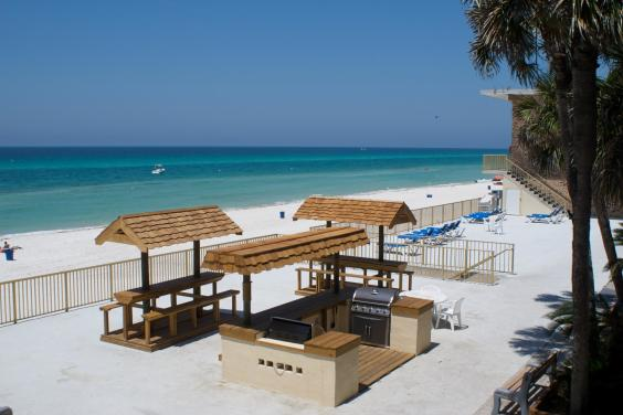 Gulf Front Grilling Pavilion