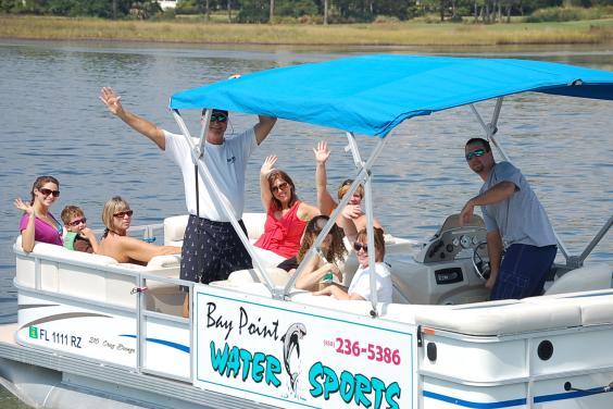 Pontoon boat fun!!