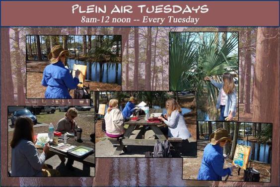 Your Invited  Plein Air Tuesdays with Beach Art Group