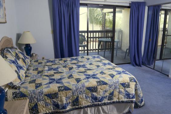 Portside master bedroom