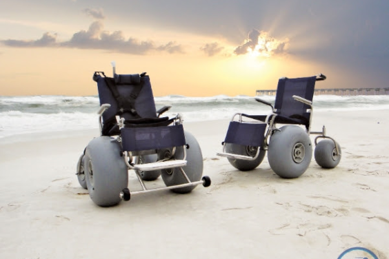 BEACH POWERED MOBILITY