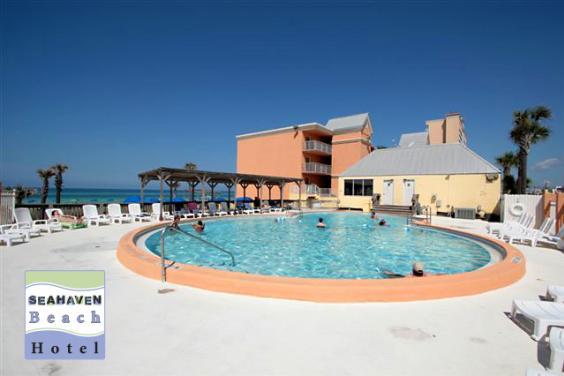 Seahaven Beach Hotel Pool Deck