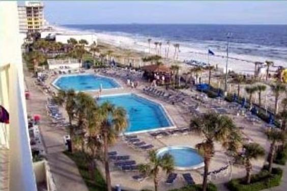 4 beach side pools