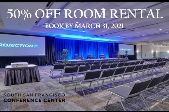 50% Off Room Rental
