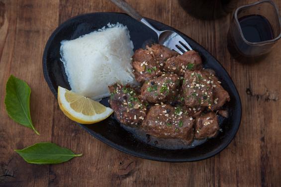 famous pork adobo