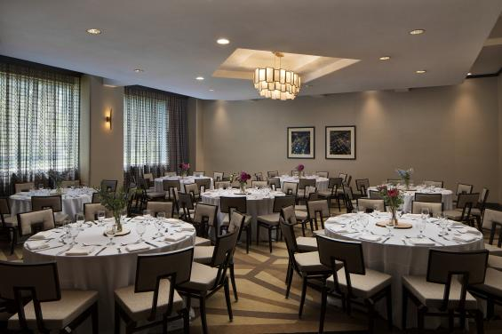 Banquet Space renovated 2020 - Embassy Suites SSF - given with permission 1-8-21