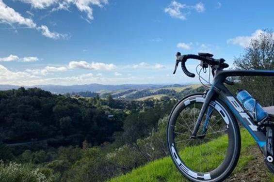 San Mateo County mountains