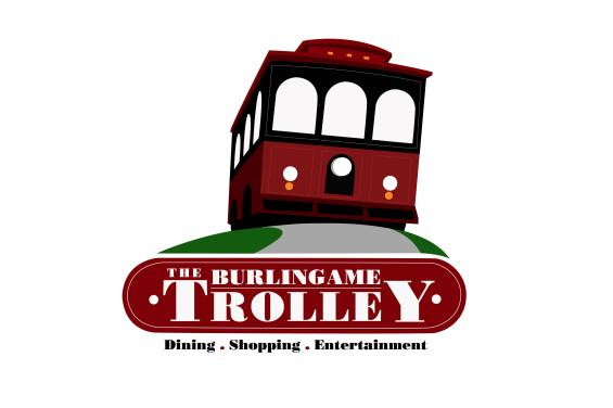 Burlingame Trolley Logo
