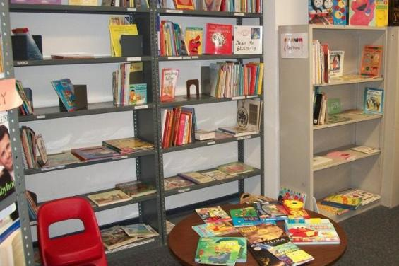 Kids Area at Encore Books