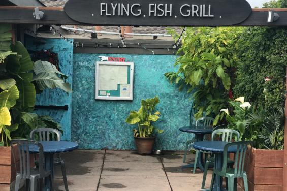 Flying Fish Grill Entrance