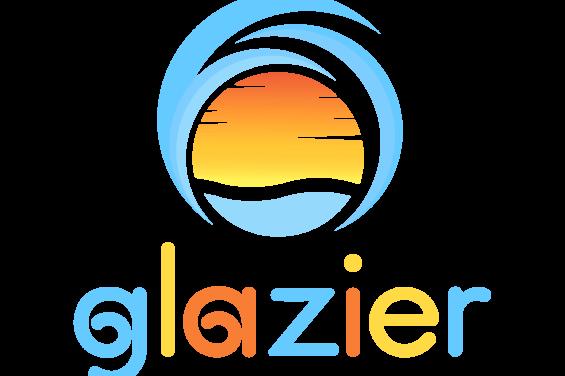 Glazier Rolled Ice Cream logo