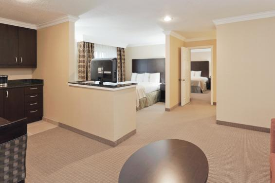 Holiday Inn Hotel & Suites San Mateo - Suite View 2 - given with permission June 2013