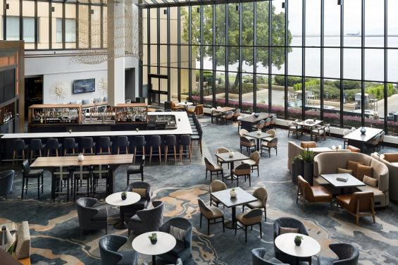 SFO Marriott Waterfront Restaurant/Lobby