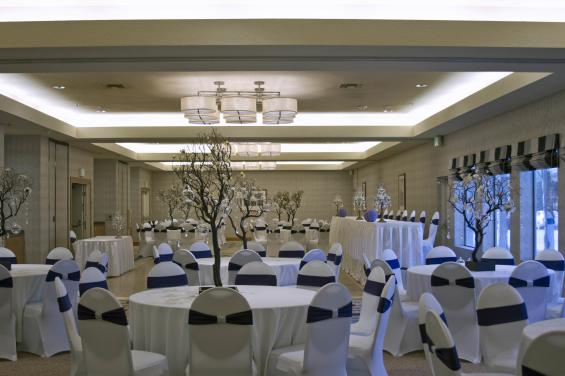 Peninsula blue meeting room