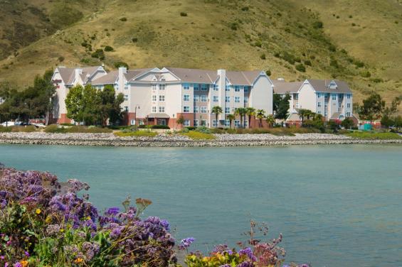 Residence Inn overlooking waterfront