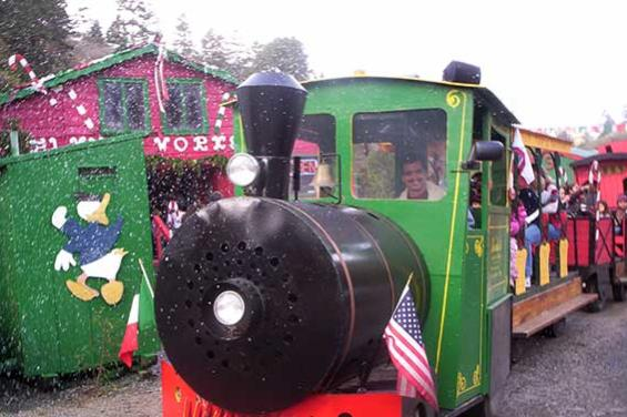 Santas Tree train ride