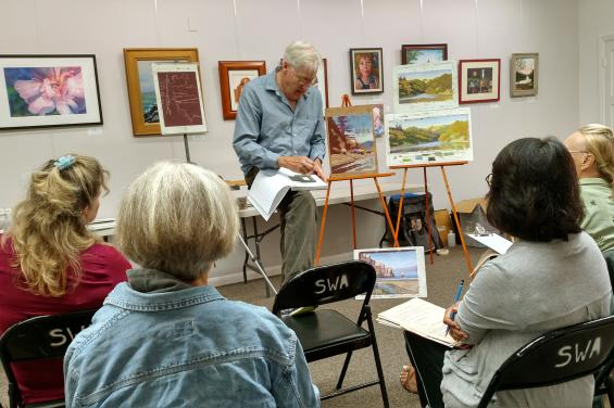 Society of West-Coast Artists Class