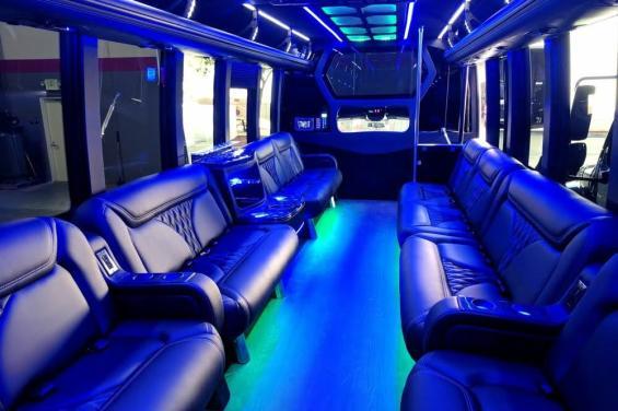 Interior of Shuttle