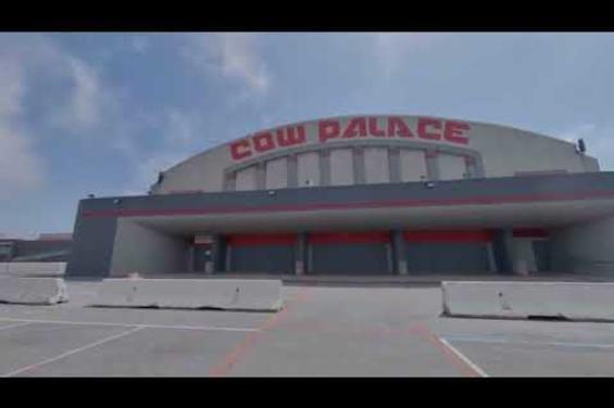 Outside Main Arena + Main Parking Lot