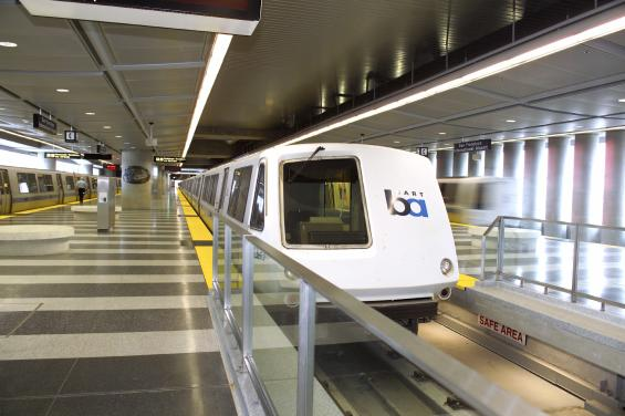 BART at SFO