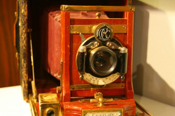 Camera Front at Museum of American Heritage by Wayland Lee - given with permission 7-18-14