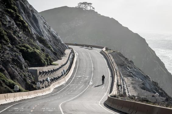 Devil's Slide Trail by Bradley Wittke