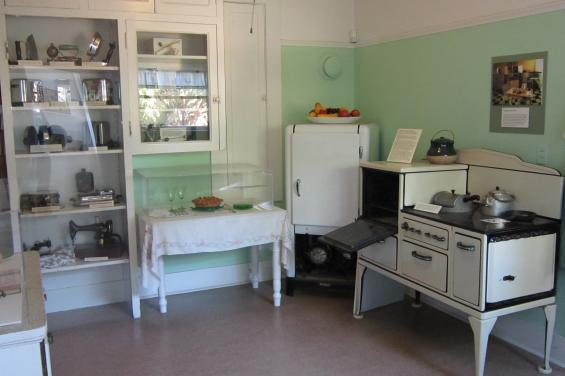 Early 20th Century Kitchen at Museum of American Heritage by Wayland Lee - given with permission 7-1