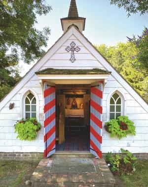 Chapel at Port of Missing Men by Averitt Buttry 2020