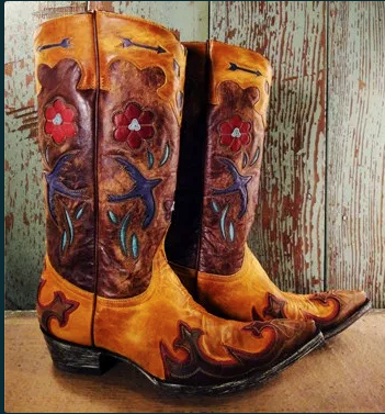 Vintage cowboy boots from Sonoma's Lonesome Cowboy