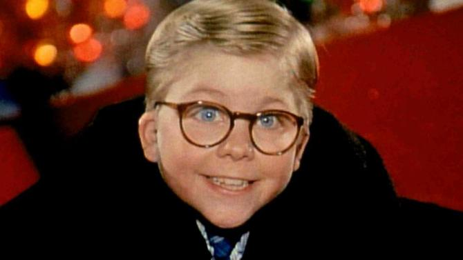 Kid from a Christmas story classic holiday film
