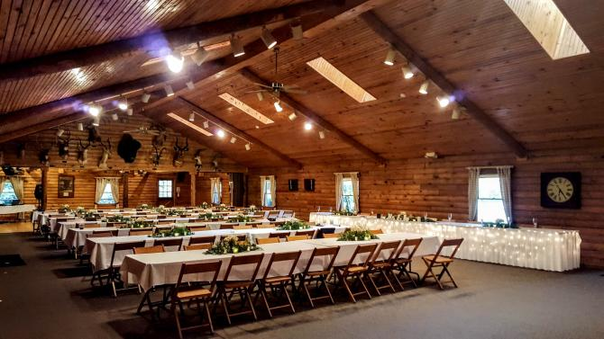 Eberly Farm Venue Setup